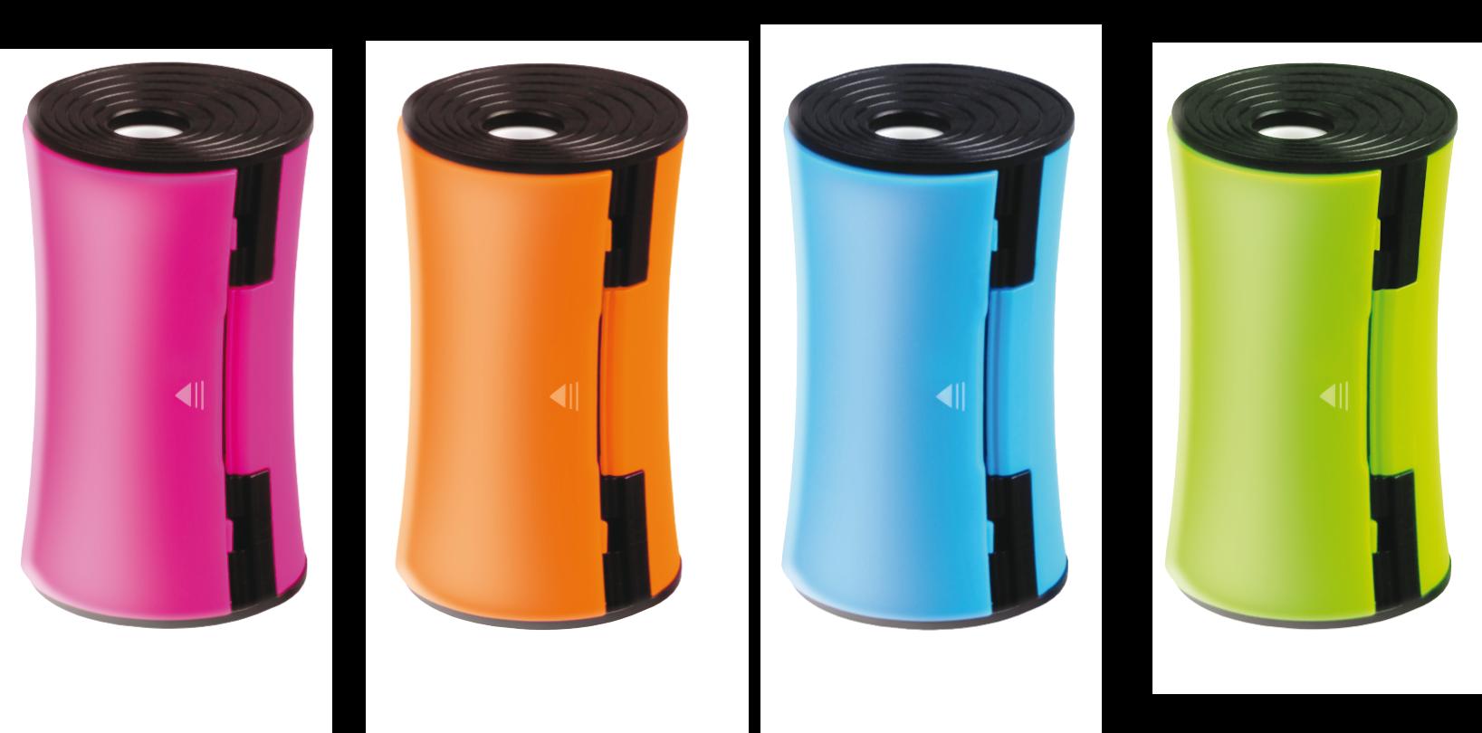 <p>Temperówka o ergonomicznym kształcie z dwoma otworami różnej średnicy (11 mm, 8 mm).</p>