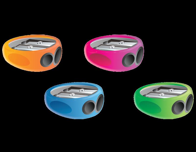 <p>Temperówka o ergonomicznym kształcie z dworna otworami różnej średnicy (11 mm, 8 mm).</p>