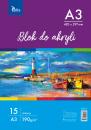 Blok do akryli KB012-A3