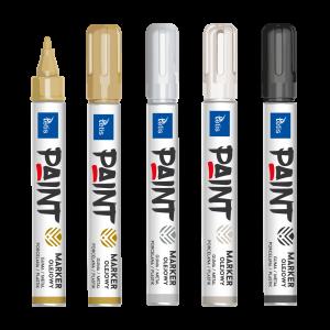 <p>Marker olejowy (6 g) przeznaczony do pisania na gumie, metalu, porcelanie, plastiku.</p>