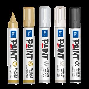 <p>Marker olejowy (10g) przeznaczony do pisania na gumie, metalu, porcelanie, plastiku</p>