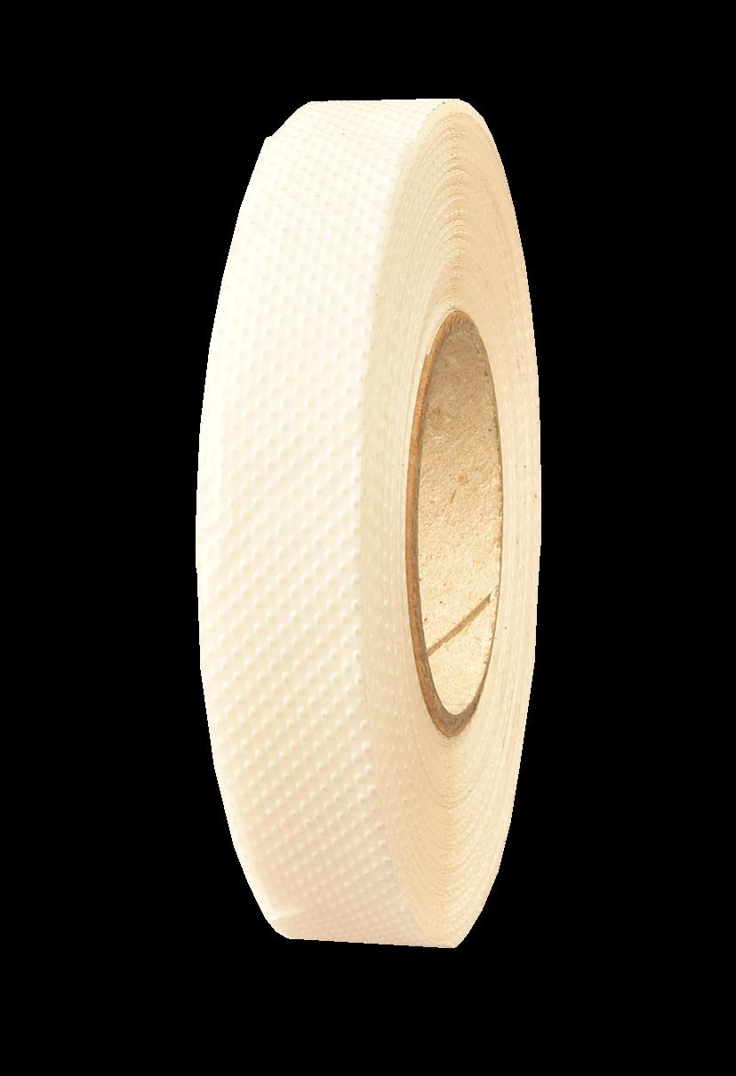 <p>Taśma papierowa o wypukłej strukturze do klejenia na większości powierzchni. Nie zostawia śladów po odklejeniu.</p>